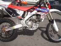 honda crfx 250 enduro bike