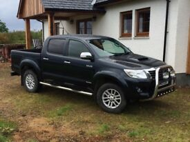 2013 Toyota Hilux Invincible 3.0 D4D manual 4WD double cab