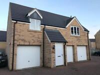New 2 Bedroom Detached Coach House to Rent (Oxley Park, Milton Keynes). Excellent Condition.