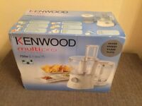 Brand new packaged Kenwood Food Processor 750w, 2.1 litre. £50 +pp