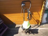 Garden Electric Rotavator and Garden tools JOBLOT - All fully working includes Garden tool tidy.