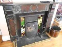 Traditional Cast Iron Fireplace For Sale