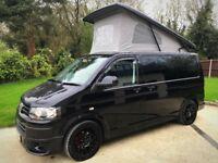 Volkswagen T5 Campervan - Black, 2012 (62), 140 bhp, Transporter T28 Sportline