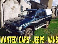 Toyota Patrol & Toyota Hilux Jeep WANTED