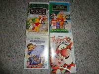 Winnie The Pooh DVD and VHS Collector's Lot