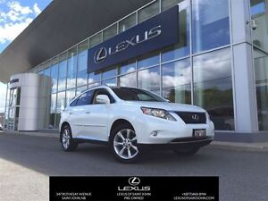 2011 Lexus RX 350 with Leather + Nav + Sunroof
