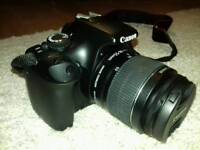 Canon 1100D with accessories