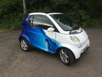 Smart, Super Smart advertising vehicle