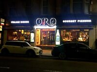 Assistant Head Chef/ Sous Chef required for ORO, in Glasgow's South Side
