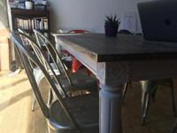 Dining/kitchen table, seats 8