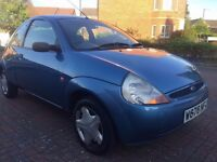 2000 Ford KA 1.2, 12 Months MOT, 61,000 Miles ONLY, Cheap Tax & Insurance, Excellent Runner