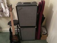 5-string MTD bass guitar and full rig for sale