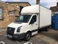 VW Crafter Luton 2.5. No VAT. perfect for Furniture Delivery, Removals or Man and Van.