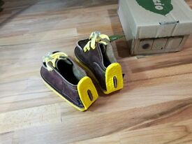 Gucio Children shoes – Chocolate – size 23 EU (6 UK) - NEW