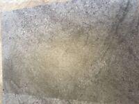 Karndean 'Grey Stone' floor tiled