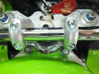 Kawasaki ZX9R F ABM Streetfighter Clip On Handlebar Riser Conversion Kit