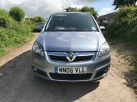 2006 Vauxhall Zafira 1.8 Petrol 7 Seater, Great Runner, MOT 2018, Free Delivery