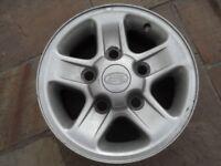 Landrover Alloy wheel