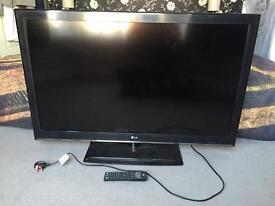 """LG 42"""" LED TV (spares or repairs)"""