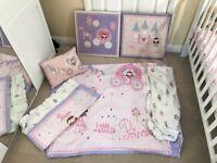 Next girls toddler bedding