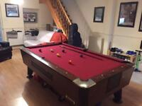 American pool table.