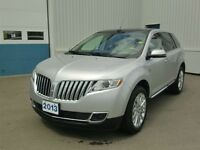 2013 Lincoln MKX LTHER-MOON NAV--LOW KMS