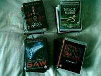 26 DVDs Horror & Thriller Movies