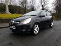 2010 Black Vauxhall Corsa 1.2 SXI 5DR - LOW MILAGE *HPI CLEAR*