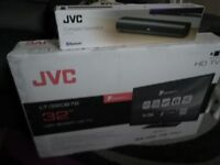 Brand new JVC · 32 in · Smart TV, High Definition, Freeview Enabled, LED 720p and compact soundbar