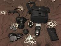 Canon 30D, 17-85mm lens, 50mm 1.8, 430EX speedlight