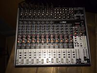 Behringer XENYX X2222 - 12 Channel Mixer / Mixing desk