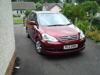 Toyota avensis verso 7 seater