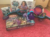 Selection of girls toys