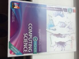 computing textbook CFE Higher Computing Science ISBN 987 1 906 736 910
