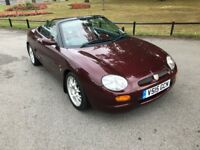 1999 Mgf 75th Anniversary Full Mot Full Service History Very Low Mileage