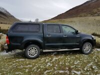 16 plate Toyota Hilux Invincible