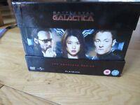 Battlesta Galactica DVD Boxset