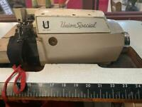Union special overlooking sewing machine