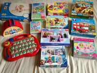 12 X Toys, Games and Puzzles for 3+ years