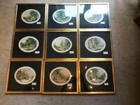 Collection of 9 LeBlond Prints