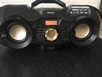 Philips CD Player Boombox