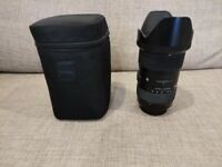 Sigma 18-35mm F1.8 ART Canon