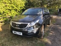 Kia Sportage - Black - Good Condition