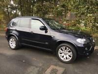 "BMW X5 3.0d M-Sport 2008 - FSH - Leather / 19"" Alloys / Sat Nav / Pdc / Finance from *£55 PER WEEK"