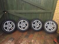 Ford Focus C Max Transit Connect Alloy Wheels And Tyres 205 55 16