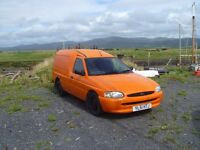 FORD ESCORT VAN 1.8 Diesel 7 months mot, little use since mot, very reliable and economical van.