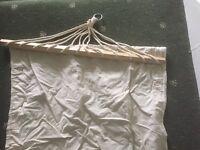 Cream calico hammock