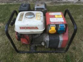 Generator petrol Honda EG 1900 X 4 stroke 240v
