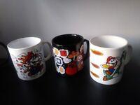 Nintendo Mario Vintage Retro Mugs