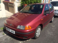 Fiat Punto, clean car in and out, MOT failure